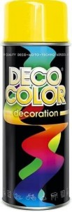 Spray Deco Color 400ml RAL1023 żółty