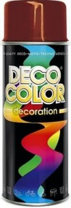 Spray Deco Color 400ml RAL3003 bordowy
