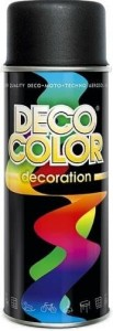 Spray Deco Color 400ml RAL9005 czarny matowy