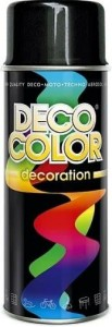 Spray Deco Color 400ml RAL9005 czarny połysk