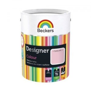 Beckers Designer Colour 5L Candy Pink
