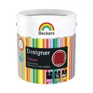 Beckers Designer Colour 5L Red Deluxe