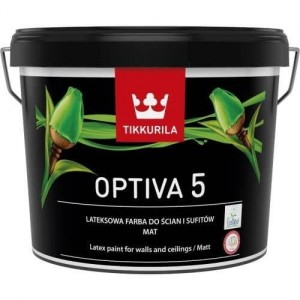 Tikkurila Optiva Matt 5 Baza A 9L