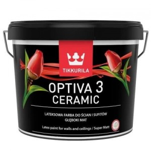 Tikkurila Optiva Ceramic Super Matt 3 Baza A 9L