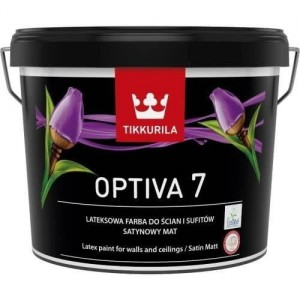 Tikkurila Optiva Satin Matt 7 Baza A 9L