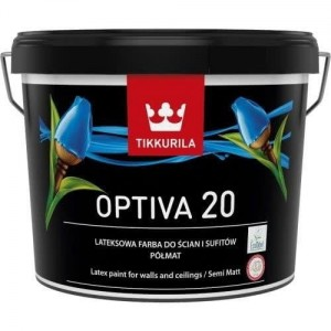 Tikkurila Optiva Semi Matt 20 Baza A 0,9L